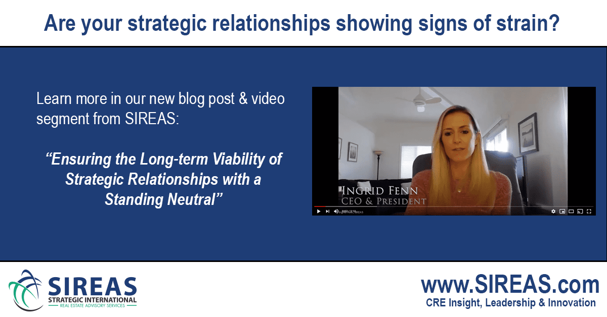 Ensuring the Long-term Viability of Strategic Relationships With a Standing Neutral